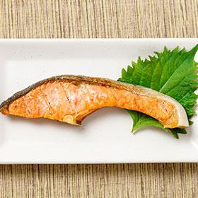 しおじゃけ定食 -Grilled salmon set-